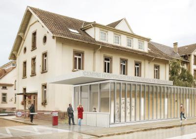 2015 – Bischwiller – Bâtiment d'accueil