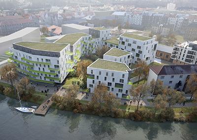 2013 – Strasbourg – 207 Logements site Marcot