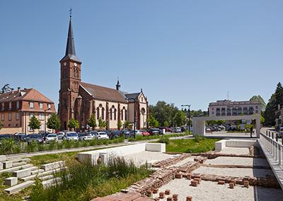 2011 – Niederbronn-les-Bains – Vestiges archéologiques