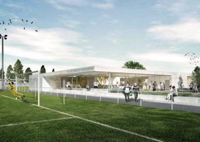 2016 – Hoenheim – Vestiaires et Club-House